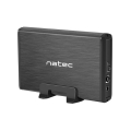 natec nkz 0448 rhino 35 usb 30 sata enclosure slim aluminium black extra photo 1