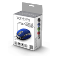 esperanza xm102b wired mouse camille usb blue extra photo 1