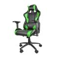 genesis nfg 0909 nitro 880 gaming chair black green extra photo 3