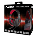 nod g hds 001 gaming headset with adjustable microphone and red led extra photo 4