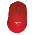 logitech m330 silent plus wireless mouse red extra photo 1