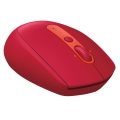 logitech m590 wireless mouse red extra photo 3