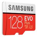 samsung mb mc128ha eu evo plus 128gb micro sdxc 2020 uhs i u3 class 10 adapter extra photo 1