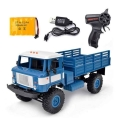 rc russian military truck 1 16 wpl b24r 4x4 blue extra photo 2