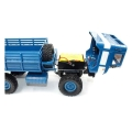rc russian military truck 1 16 wpl b24r 4x4 blue extra photo 4