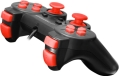 esperanza egg106r corsair vibration gamepad for pc ps2 ps3 black red extra photo 1