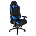 akracing core ex gaming chair black blue extra photo 5