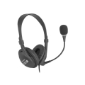 natec nsl 1692 drone usb headphones black extra photo 3