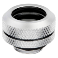 corsair hydro x fitting hard xf straight chrome 4 pack 14mm od compression extra photo 1