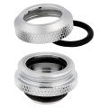 corsair hydro x fitting hard xf straight chrome 4 pack 14mm od compression extra photo 2