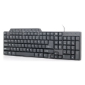 gembird kb um 104 compact multimedia keyboard usb us layout black extra photo 2
