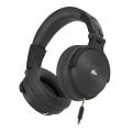 audictus awh 1514 voyager headphones with microphone black extra photo 1