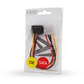 savio ak 11 power cable molex 4 pin m sata 15 pin f angled extra photo 1