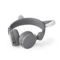nedis wired headphones willy wolf grey extra photo 2