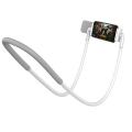 baseus neck mounted lazy bracket for tablet smartphone white extra photo 1