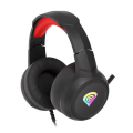 genesis nsg 1609 neon 200 rgb gaming headset black red extra photo 1