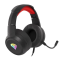 genesis nsg 1609 neon 200 rgb gaming headset black red extra photo 2