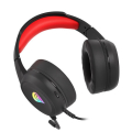 genesis nsg 1609 neon 200 rgb gaming headset black red extra photo 4