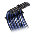 bitfenix alchemy 20 extension cable kit black blue sleeve black connector extra photo 2