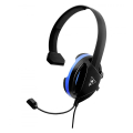 turtle beach recon chat for ps4 black blue over ear headset tbs 3345 02 extra photo 1