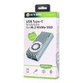 raidsonic icy box ib 1822mf c31 m2 nvme exclosure usb c with switchable write protection extra photo 4