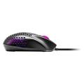 coolermaster mm720 16000dpi 2 zone rgb gaming light mouse matte black extra photo 1