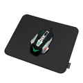 logilink id0196 gaming mouse pad stitched edges 320 x 270 mm black extra photo 2