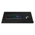 logilink id0198 gaming mouse pad stitched edges 890 x 435 mm black extra photo 2