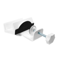 logilink kab0067 table mount clamp on cable organizer extra photo 1
