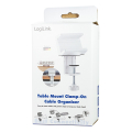 logilink kab0067 table mount clamp on cable organizer extra photo 7