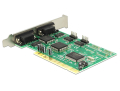 delock 89046 pci card 4 x serial rs 232 extra photo 2