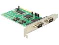 delock 89046 pci card 4 x serial rs 232 extra photo 3