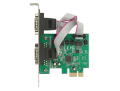 delock 89641 pci express card to 2 x serial rs 232 high speed 921k with voltage supply extra photo 2