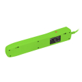 natec nsp 1717 bercy 400 5x french outlets surge protector green 15m extra photo 2