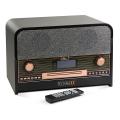 technaxx retro bluetooth dab fm stereo radio with cd player usb tx 102 extra photo 1