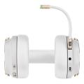 corsair headset virtuoso rgb wireless 71 pearl extra photo 2