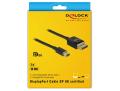 delock 84928 mini displayport to displayport cable 8k 60 hz 2 m dp 8k certified extra photo 3