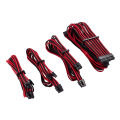 corsair diy cable premium individually sleeved dc cable starter kit type4 gen4 red black extra photo 1