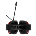 asus tuf gaming h3 over ear gaming headset red extra photo 1