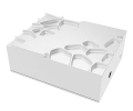 akasa gem aluminium case for raspberry pi 4 with thermal kit extra photo 1