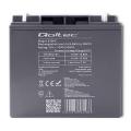 qoltec 53046 agm battery 12v 17ah max 255a extra photo 1