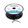 lanberg optical hdmi cable m m v20 50m black extra photo 2