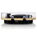 lenco ls 40wd wood turntable with built in speakers extra photo 2