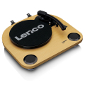 lenco ls 40wd wood turntable with built in speakers extra photo 3