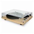 lenco lbt 188pi wood turntable with bt mmc pine extra photo 5