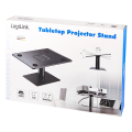 logilink bp0142 tabletop projector stand steel plastic max 10 kg black extra photo 7