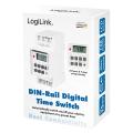 logilink et0010 digital time switch for din rails extra photo 5