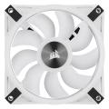 corsair icue ql120 rgb 120mm pwm white fan  single pack extra photo 4