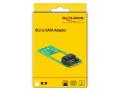 delock 62517 adapter m2 key b m to sata 7 pin form factor 2260 extra photo 4