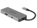 delock 87743 usb type c docking station for mobile devices 4k hdmi hub sd pd 20 extra photo 1